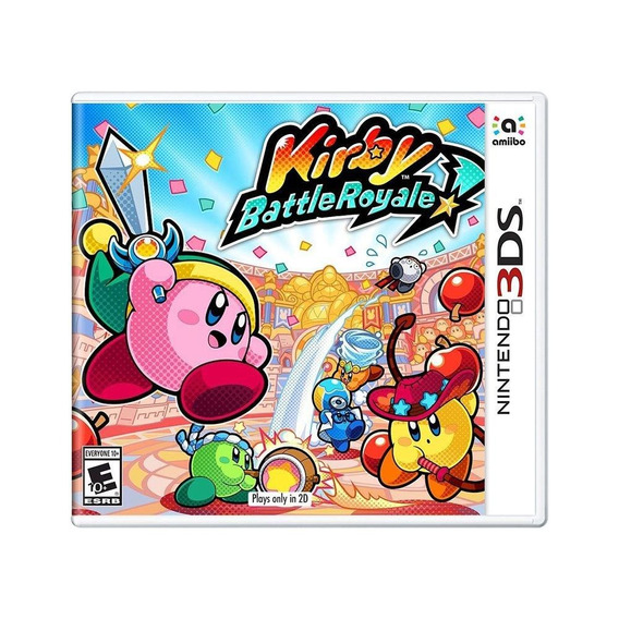 Kirby Battle Royale 3ds Mídia Física Novo Lacrado