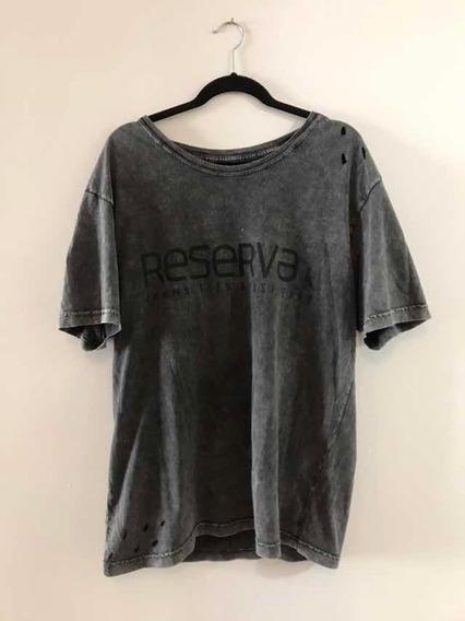 Camiseta Reserva Cinza