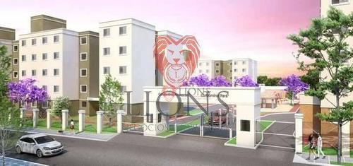 Apartamento Com 2 Dormitórios À Venda, 43 M² - Jardim Betânia - Cachoeirinha/rs - Ap0057