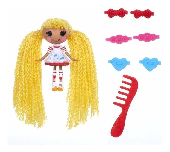 Mini Lalaloopsy Loopy Hair - Spot Splatter Splash - Amarela