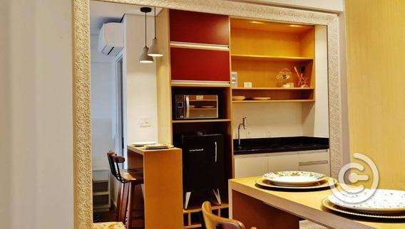 Studio Mobiliado, Com 1 Dormitório À Venda, 27 M² Por R$ 559.000 - República - São Paulo/sp - St0200