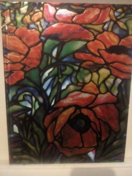 Cuaderno Liso Tiffany Oriental Poppy Sketchbook