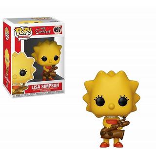 Muñeco Funko Pop Lisa Con Saxofon 497 Los Simpsons Original