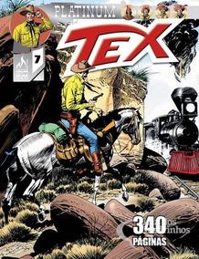 Revista Hq Gibi - Tex Platinum 07 - O Trem Blindado