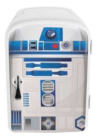 Star Wars R2-d2 Mini Refri Frio Caliente Nuevo Importado