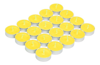 96 Velas De Té Aromáticas De Colores Tea Light Candles