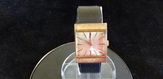 Antigo Relógio De Pulso Tressa Swiss A Corda