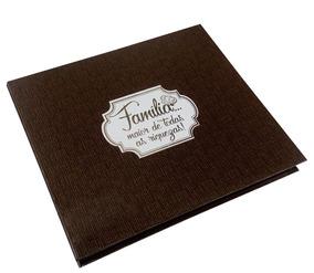 Caixa Rígida Com Álbum Família