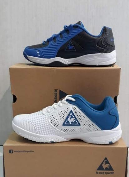 Zapatillas Le Coq Sportif Original! Tenis Cuero!! Increible!