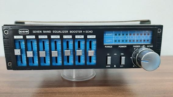 Equalizador E Amplificador Vcs Bq60 Câmera Eco Funcionando