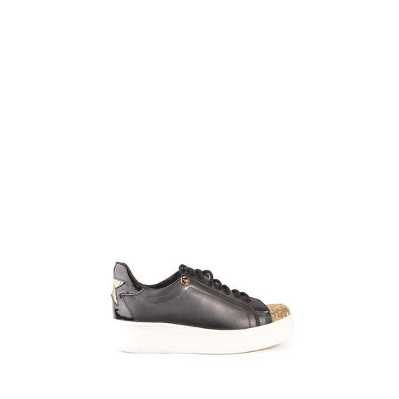 Zapatillas Zapatos Mujer De Cuero Diamante - Ferraro -