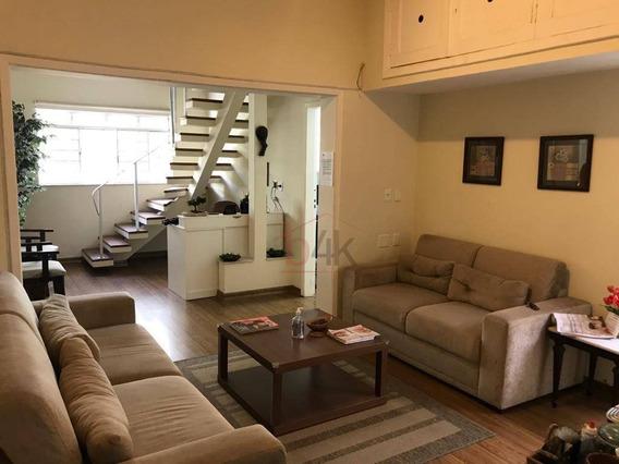 Casa Com 2 Dormitórios, 180 M² - Venda Por R$ 1.500.000 Ou Aluguel Por R$ 4.500/mês - Campo Belo - São Paulo/sp - Ca0549