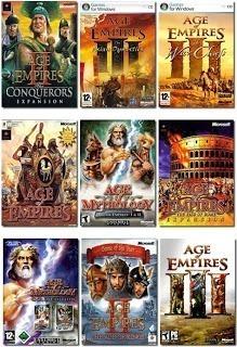 Imagen 1 de 10 de Age Of Empires + Command & Conquer + Comandos Pc Digital