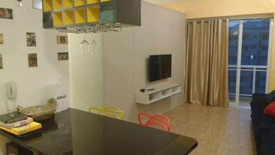 Apartamento Em Pompéia, Santos/sp De 51m² 1 Quartos À Venda Por R$ 540.000,00 - Ap98311