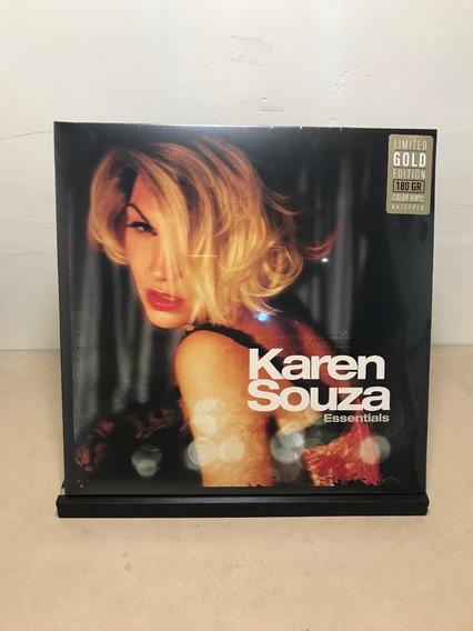 Vinilo Karen Souza - Essentials (coloured Vinyl)