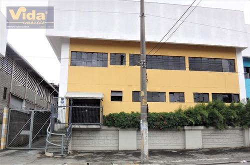 Imagem 1 de 6 de Locação Galpão Em Vila Sao Silvestre  -  Barueri - 42326