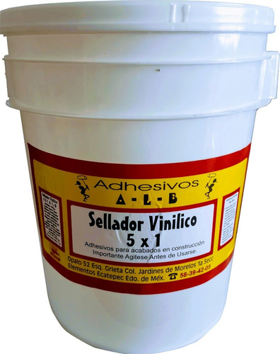 Sellador Vinilico. Cubeta 10 Litros