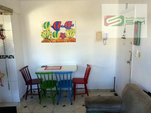 Imagem 1 de 9 de Apartamento Em Guilhermina - Praia Grande - 4315