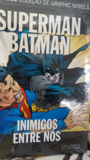 Hq - Dc Graphic Novels - Superman Batman, Inimigos Entre Nós