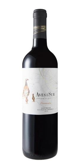 Vinho Chileno Tinto Aves Del Sur Carmenère Garrafa 750ml