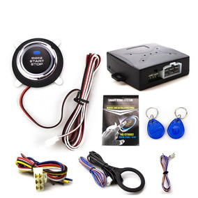 Kit Start Stop Universal Ignição Partida Motor Carro Botão