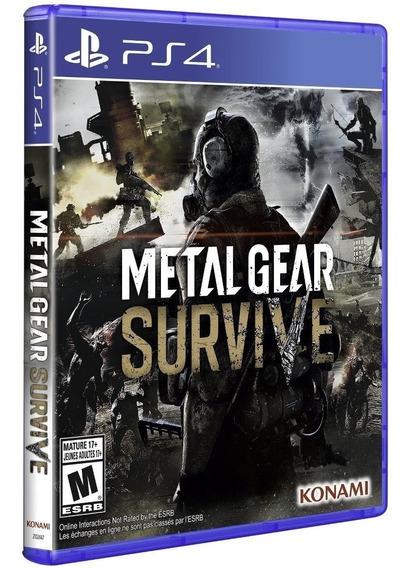 Metal Gear Survive Ps4 Novo Lacrado Promoção