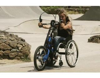 Hand Bike. Bicicleta Triciclo Discapacitados. Manual.