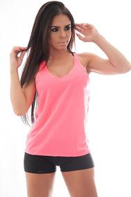 Kit 12 Regatas Feminina Nadador Musculação Academia Fitness