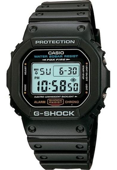 Relógio Casio G-shock Dw-5600e-1vdr Resistente A Choques