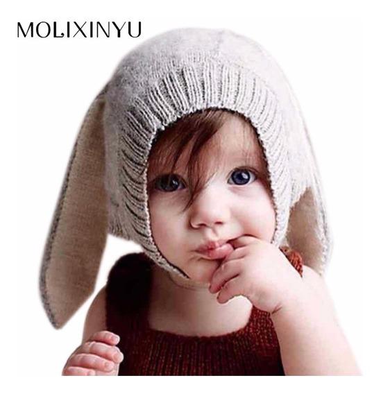 Gorro Para Bebe Niño O Niña De Conejo Sombrero Sombrero