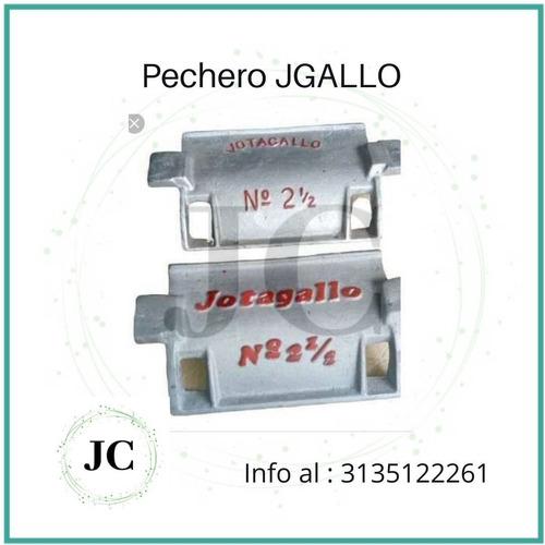 Pechero J Gallo 2 1/2