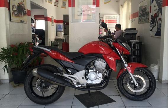 Honda Cb 300 R Vermelha 2014