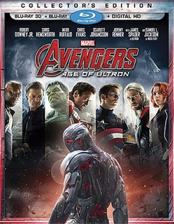 Blu-ray Avengers Age Of Ultron / Los Vengadores 2 / 3d + 2d