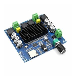 Modulo Amplificador Audio Bluetooth 2 X 100w Mp3 Aux Tda7498