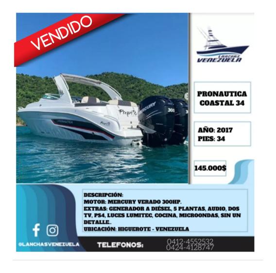 Yate Pronautica Coastal 34 Lv352