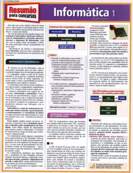 Informatica 1 - Resumao Para Concursos