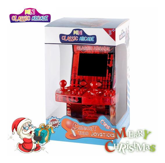 Atualizado Mini Clássico Arcade Game Armário Máquina Duplo