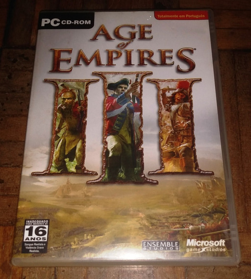 Age Of Empires 3 Original Dubl E Leg Em Português Pc