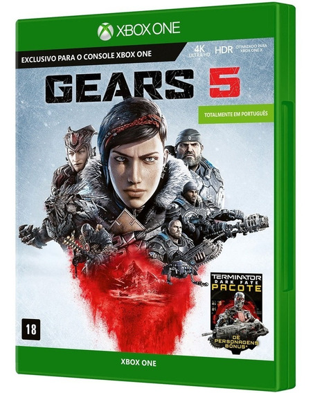 Gears Of War 5 Xbox One Pc Código 25 Dígitos Online Digital