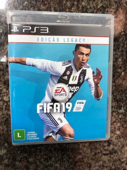 Fifa 19 Playstation 3 Seminovo Mídia Física