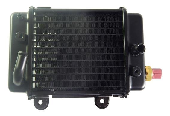 Radiador Esquerdo Completo Com Sensor Kasinski Crz 150