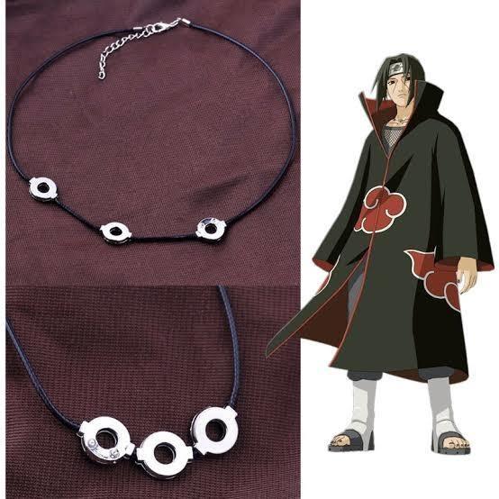 Collar Anime Naruto Konoha Akatsuki Itachi Uchiha