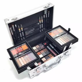 Maleta Kit Maquiagem Profissional Completa Jasmyne 56 Itens