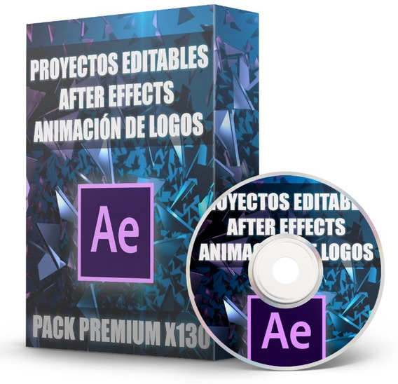 Proyectos After Effects Logos Editables Pack X130 Full Hd 4k