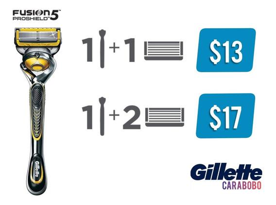 Gillette Fusion5 Proshield Vs. Mach 3