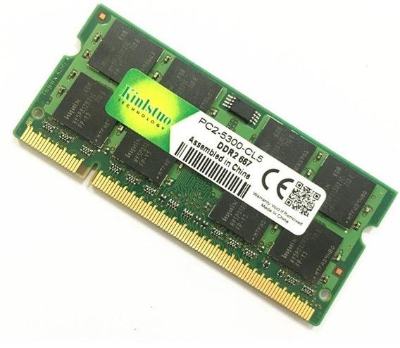 Memória Ddr2 2gb 667mhz Pc2-5300 Chip P/ Notebook