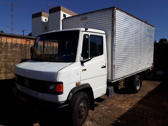 Mercedes-benz Mb 710 Ano 1997 Baú, Segundo Dono