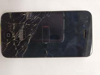 Celular iPhone 4 M A1332 Ligando (pra Retirar Peças (