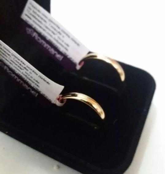 Par Alianças Rommanel Casamento Namoro Compromisso Meia Cana