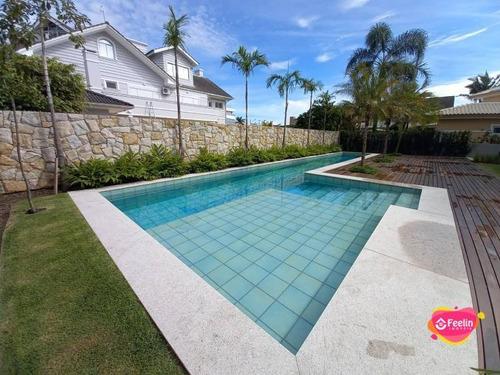 Imagem 1 de 30 de Casa Com 4 Dormitórios À Venda, 474 M² Por R$ 7.300.000,00 - Jurerê Internacional - Florianópolis/sc - Sc - Ca0063_feelin